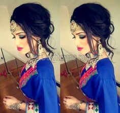#afghan #style #jewelry #hairstyle #dress
