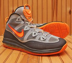 2013 Nike Air Max Uptempo Fuse 360 Size 12 - Grey Silver Orange - 555103 006 | Clothing, Shoes & Accessories, Men's Shoes, Athletic | eBay!
