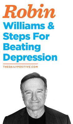 Robin Williams was a great man. Especially for my generation. His life left a dent in the universe and kids across the globe were better for it. But how can we prevent chronic depression? How can we prevent suicide? Here are a few pieces of advice I believe we can all lean on.