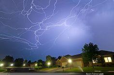 Tangles of Lightning