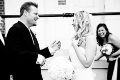 Wedding. Sweet Trade  #love #wedding #bride #blackandwhite #laughing #bridalphotos #posedshots #posed #flowers #weddingdress #bridesmaid #groom #weddingphotography #curlyhair Wedding Dresses, Wedding Bride, Curly Hair Styles, Groom, Wedding Photography, Sweet, Laughing, Bridesmaid, Flowers