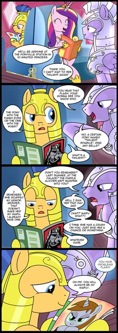 MLP Comic - Everypony Hates Flash (Commission) by MattX16.deviantart.com on @deviantART