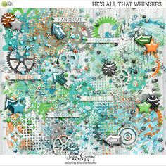 He's All That Whimies by Bella Gypsy Designs