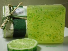 Lemon-Lime Citrus Soap ... Mmmmmm ... awakening yet calming in the now ...
