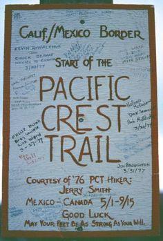 Thru - Hike the Pacific Crest Trail