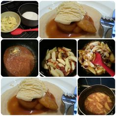 toffee apple pancakes - Domestic Goddesque