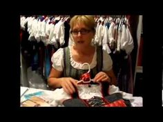 "YouTube Video Series on how to sew your own dirndl. EVERYTHING! Pinning so I can watch and make notes. Finding a good dirndl in Texas at a reasonable price is laughable. They are all costumy and not at all well made (that I've found). I've ""outgrown"" my authentic Dirndl from Austria and hope to make my own."
