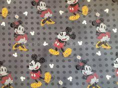 mi091  1 Yard Cotton Fabric  Disney Cartoon Characters by dotcn, $11.00