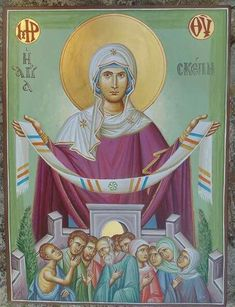 Blessed Virgin Mary, Orthodox Icons, Princess Zelda, Angels, Roses, Pictures, Fictional Characters, God, Photos