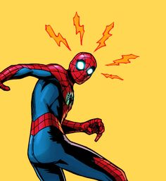 "spidrmans: ""Spider-Man in Slapstick "" Marvel Vs, Marvel Dc Comics, Marvel Heroes, Spiderman Art, Amazing Spiderman, Graphisches Design, Spider Verse, Spideypool, Comic Character"