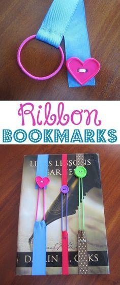 'Basic Sewing Skills Ribbon Bookmark...!' (via Busy Beehives)