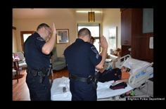 12-year-old Jose Rubio-Pavon with an inoperable brain tumor was sworn in as his citys youngest police officer.