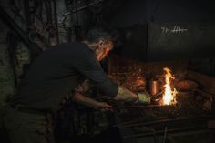 Blacksmith by Ron Gessel, via Behance