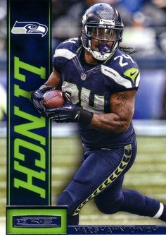 Marshawn Lynch - Seattle Seahawks Follow me on Pinterest (dubstepgamer5) for more pins like this.