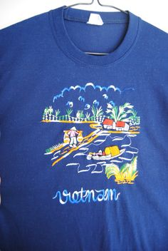 afe88c42467c 90s Vietnam Embroidered T-Shirt Vintage Paper by HighNoonFullMoon Travel And  Tourism, Vintage Looks