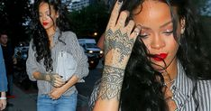 1000 ideas about rihanna hand tattoo on pinterest hand tattoos tattoos and henna inspired. Black Bedroom Furniture Sets. Home Design Ideas