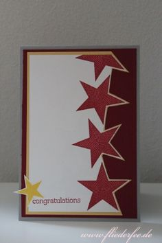 Stampin' Up! card zoo babies & simply stars