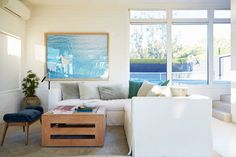 Get the Look of Courteney Cox's Airy, Beachfront Malibu Home Photos | Architectural Digest