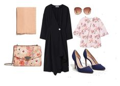 """""""The LBD"""" by aneeqlondon on Polyvore featuring MANGO and Modest"""