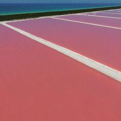 Hermoso lugar en Las Coloradas Yucatán! Renta de drones fotografía aérea y filmación con drones. Dronfilmstudio.com