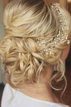 30 Pinterest Wedding Hairstyles For Your Unforgettable Wedding ❤ pinterest wedding hairstyles twisted updo blond hair hairbybritny ❤ See more: http://www.weddingforward.com/pinterest-wedding-hairstyles/ #weddingforward #wedding #bride #pinteresthairstyles