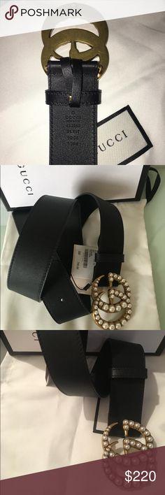 994231a73ac Gucci belt Beautiful pearl Gucci belt. Includes original tag