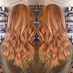Strawberry blonde bronze