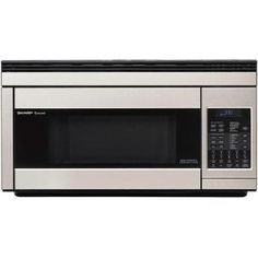 1.1 cu. ft. Over-the-Range Convection Microwave in Stainless Steel-R1874T at The Home Depot