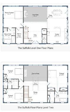 Barndominium Floor Plans For Different Purpose Home Barn - Floor plans for homes in texas