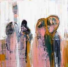 "Saatchi Art Artist Mia Helgesen; Painting, ""as one"" #art"