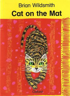 #art cover of Cat on the Mat by Brian Wildsmith. via flamenconut