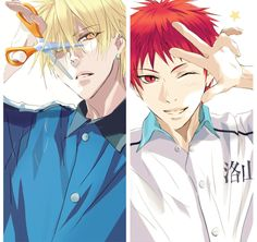 ...I wouldn't know what to do if Akashi and Kise switched personalities, they're both so adorable~ *dies of nosebleed*
