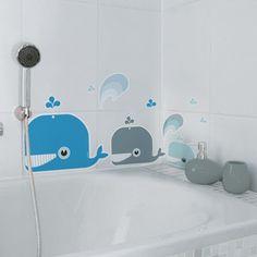 Vinilos infantiles para el baño