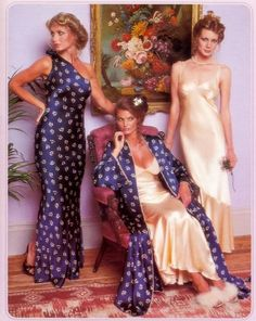 Vintage Victoria's Secret robes and nightgowns
