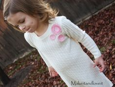 Re-purposing: Sweater to Sweater Dress | Make It and Love It