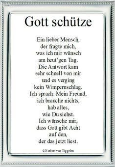 """Wenn Sie auf dieses Gedicht klicken, besuchen Sie das Buch """"Lichtblicke"""" von Norbert van Tiggelen, indem weitere ähnliche Gedichte zu lesen sind. Viel Spaß damit! German Quotes, Letter Board, Pray, Religion, Lettering, Words, Painting, Blue Prints, Author"""