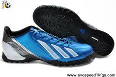 New Adidas F10 TRX TF Blue White Zest Black Football Boots Shop