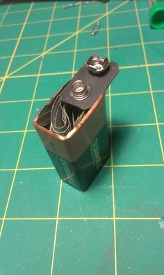 Picture of 9 Volt Battery Secret Compartment