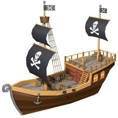 Low Poly Pirate Ship Model available on Turbo Squid, the world's leading provider of digital models for visualization, films, television, and games. Low Poly, Pirate Ship Drawing, Kids Pirate Ship, Pirate Ship Cakes, Ship In Bottle, Bateau Pirate, Fun Craft, Graduation Party Decor, Idee Diy