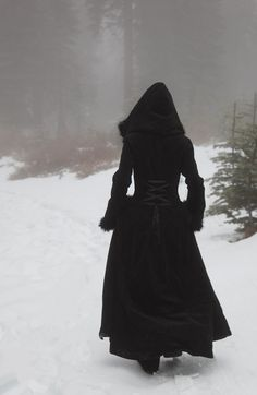 Goth:  Winter walk.