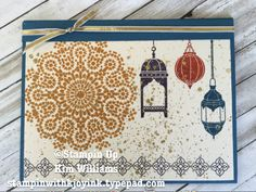 Stampin Up Moroccan Nights stamp set.