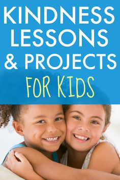 Need kindness project ideas or a lesson plan for random acts of kindness? Try these kindness activities for kids of all ages. #kindness #lessons #kidsactivities #actsofkindness