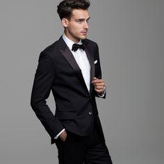 ✔ Tuxedo. Needs a wing collar
