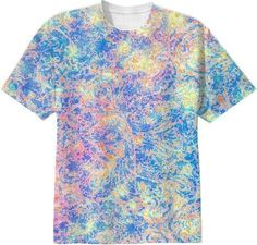 WATERCOLOR PAISLEY T-SHIRT from Jan4insight on Print All Over Me