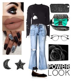 """""""-*-Power Look-*-"""" by dreamerz-dream-on ❤ liked on Polyvore featuring adidas Originals, Tabitha Simmons, Betsey Johnson, Victoria's Secret and Ray-Ban"""