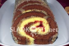 Dvojitá roláda s rumovou polevou – Hančiny Sladkosti.net Cake, Food, Kuchen, Essen, Meals, Torte, Cookies, Yemek, Cheeseburger Paradise Pie