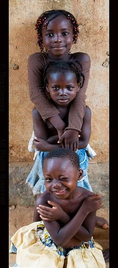 Adorable Burkina Faso Children - America
