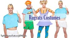 Rugrats Halloween Costumes: Angelica, Tommy, Chuckie