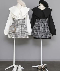 Fashion E Outfit - Product Teen Fashion Outfits, Korean Outfits, Girly Outfits, Casual Outfits, Korean Girl Fashion, Ulzzang Fashion, Asian Fashion, Cute Skirt Outfits, Pretty Outfits