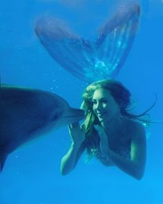 I was a mermaid in another life... no doubt about it <3
